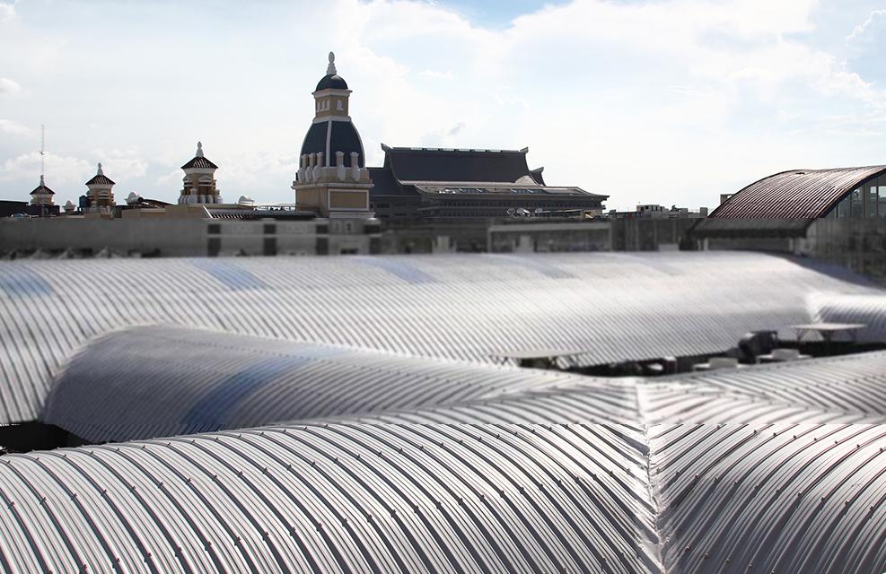 Agen Atap Pabrik Holodeck Ungaran