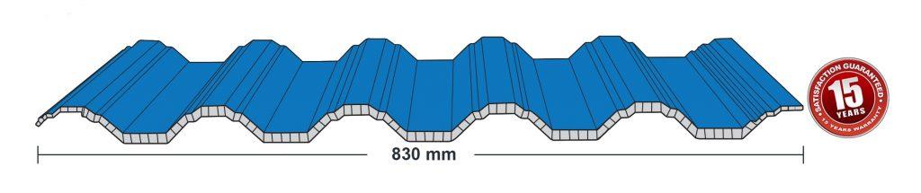 spesifikasi atap upvc holodeck